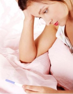 Pregnancy test on week 1