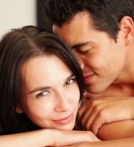 Pregnancy at week 5 - loving couple