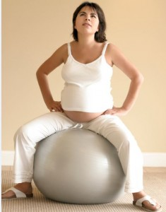 exercise for pregnant mums
