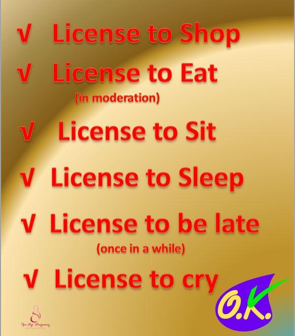 Pregnancy License