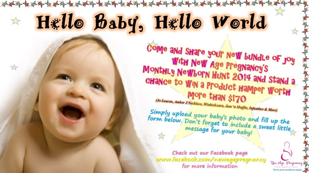 helloworld sweepstakes hello baby hello world photo contest pregnancy in singapore 3104