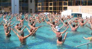 aerobics water
