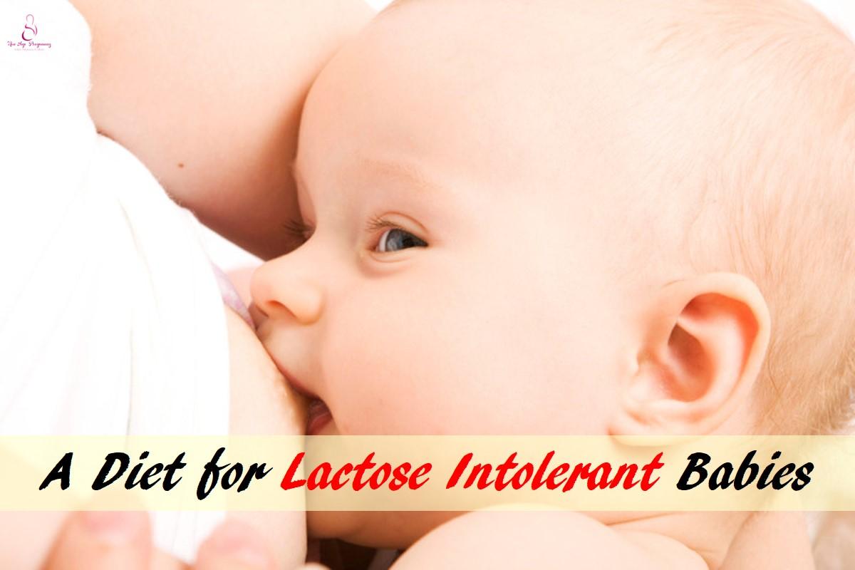 Lactose Intolerant baby