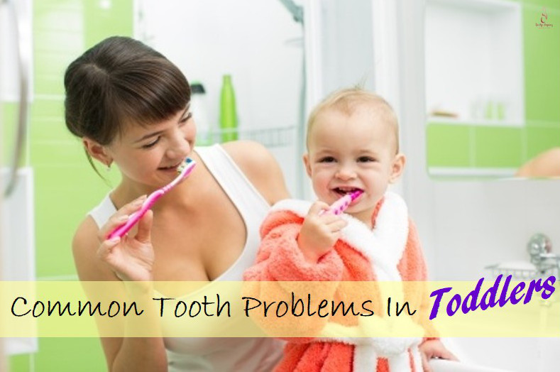 tooth problem in toddler