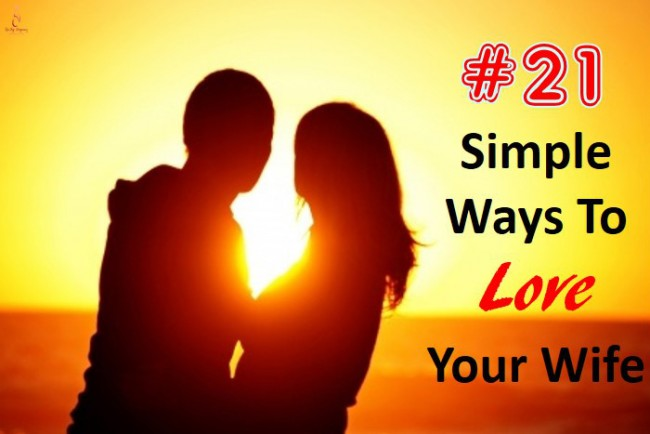 ways to love your wife