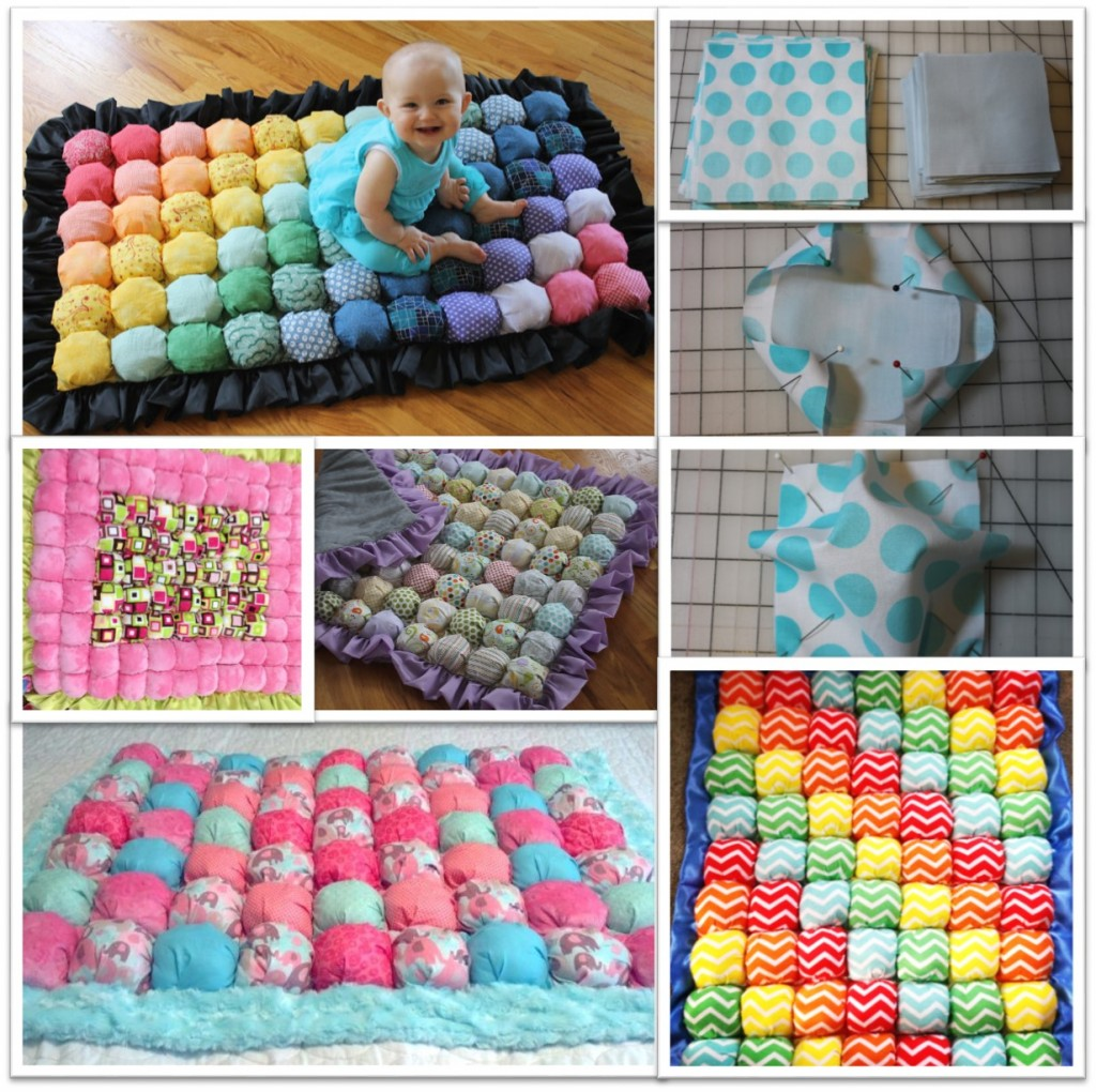 How to make bubble quilt