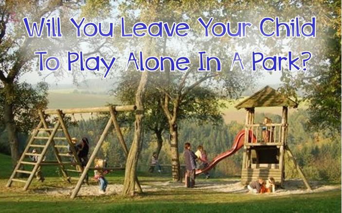 danger of leaving child alone