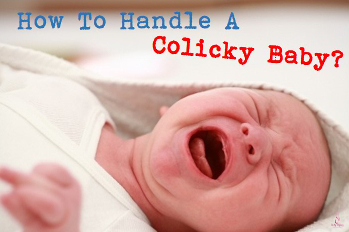 handling a colicky baby