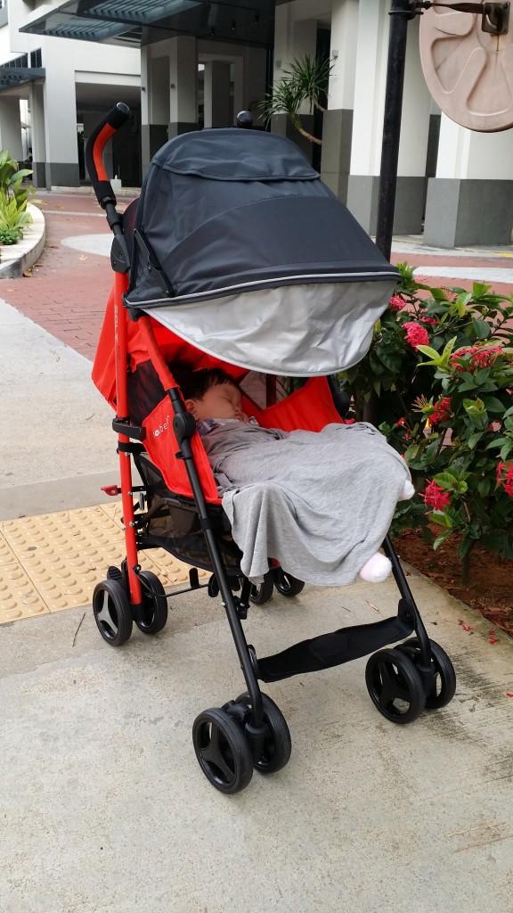bonbebe bolt stroller