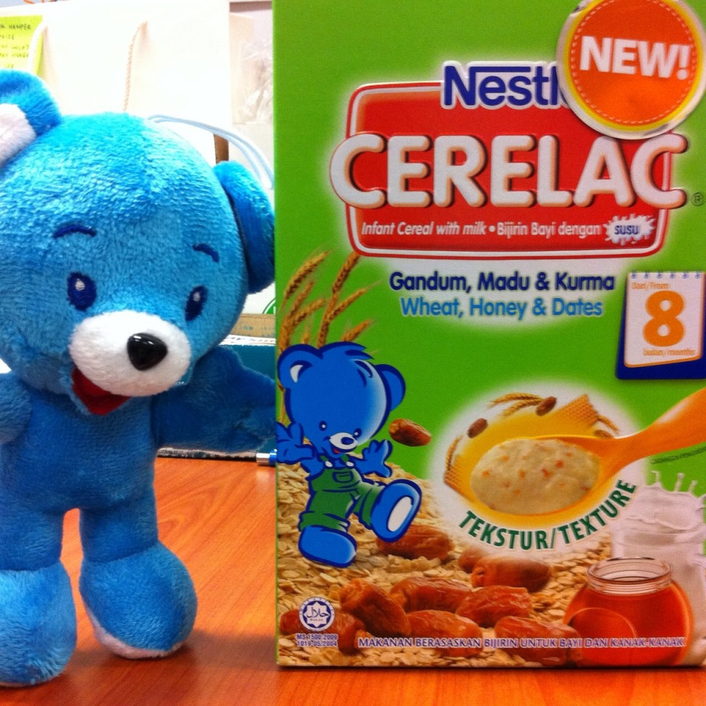 The New Goodness For Your Baby! Nestlé CERELAC® Wheat, Honey and Dates