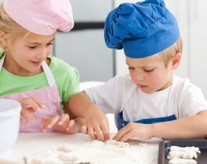 children as chef