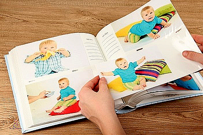 how to create a baby book