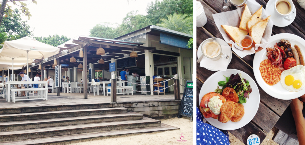 romantic restaurant in Sentosa