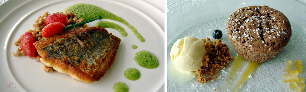 Romantic restaurant with great food