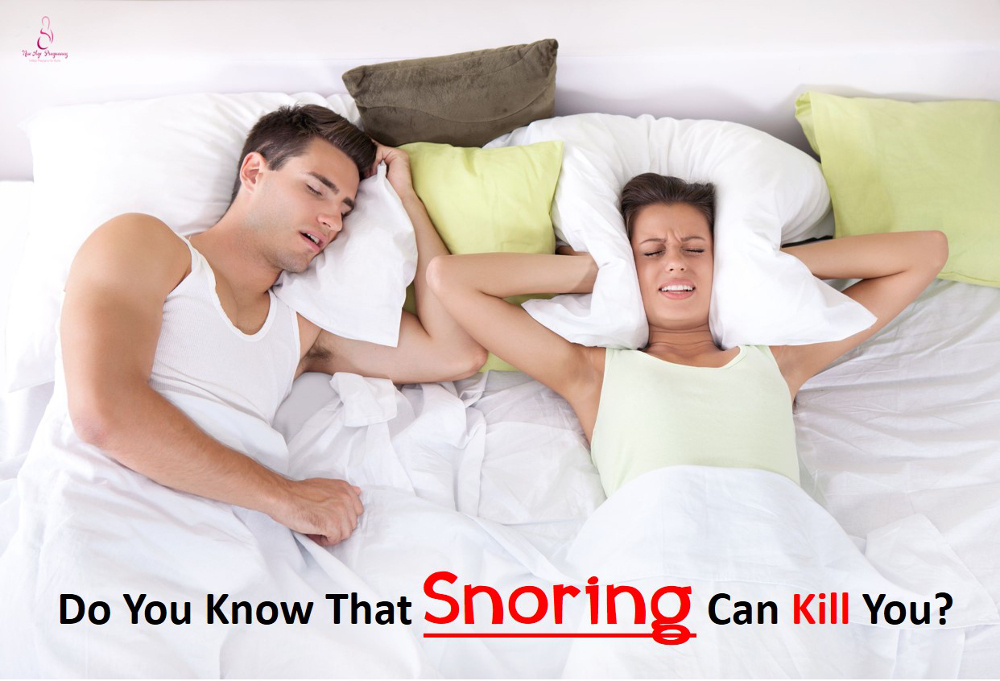 snoring is a silent killer
