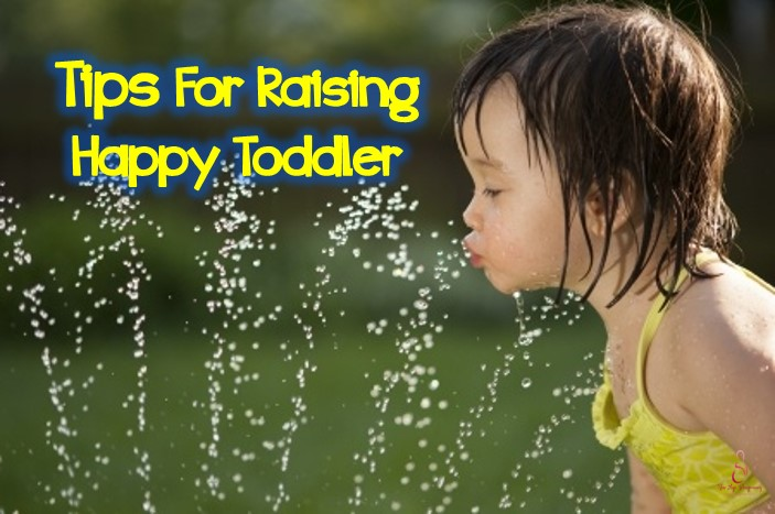 raising happy toddler