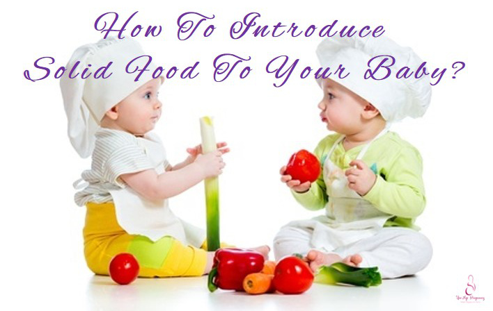 how to introduce solid food to baby