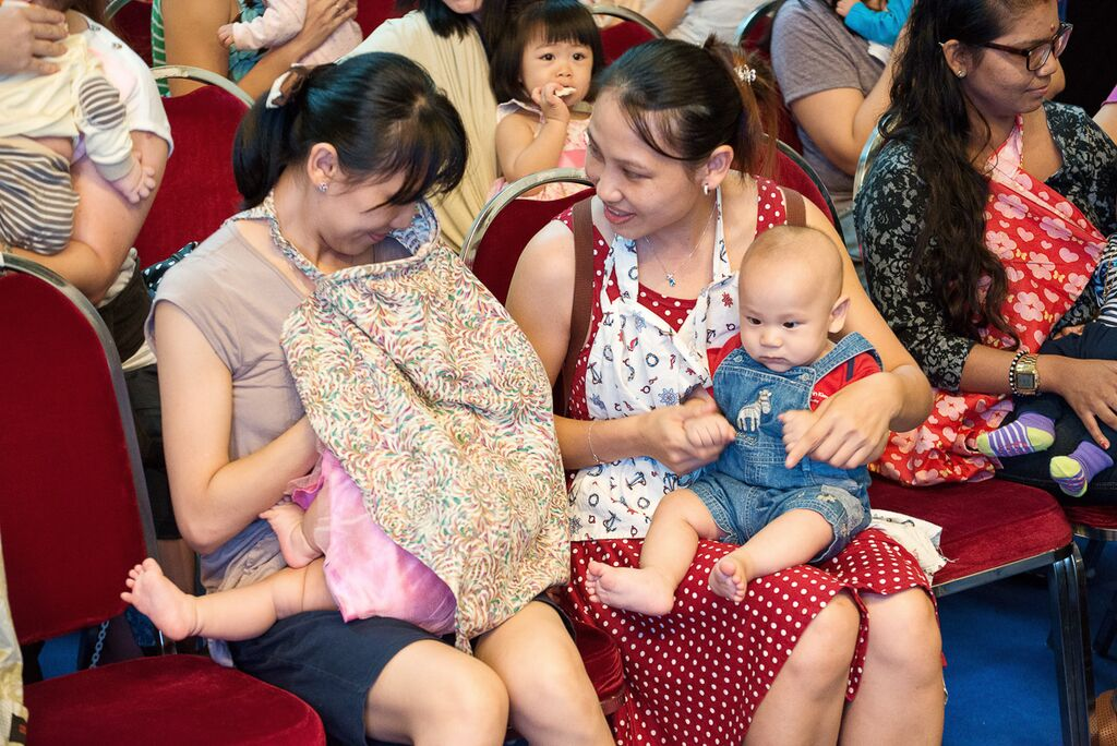 breastfeeding week in Singapore