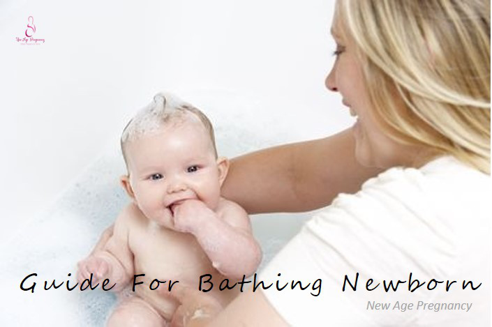 tips for bathing newborn