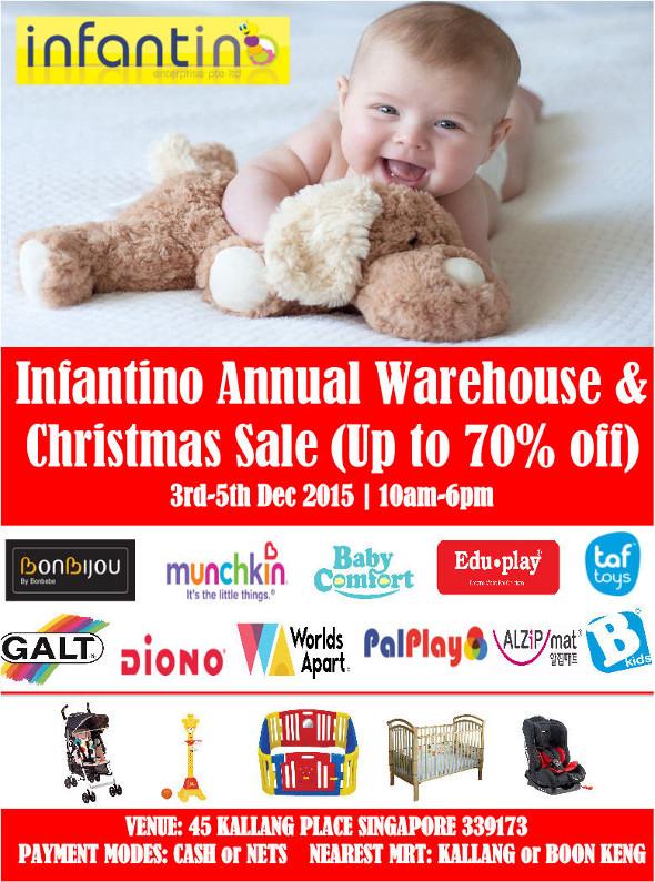 Infantino Singapore Christmas Sales