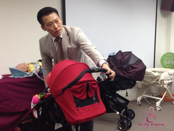 Mr Tom Chang, Combi Senior Manager of Sales and Marketing Dept
