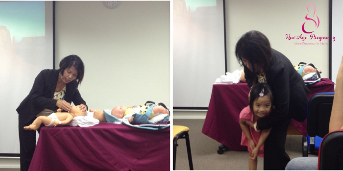 Parenting workshop by Ms Wong Boh Boi