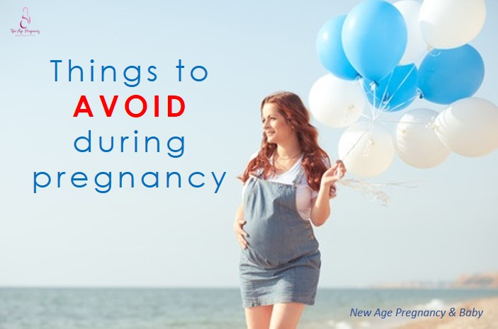 things that pregnancy woman should not do