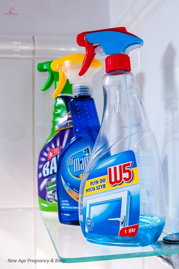 avoid contact with detergent during pregnancy