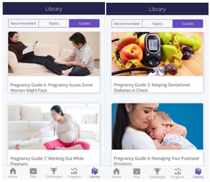 HealthHub Track Your pregnancy planner