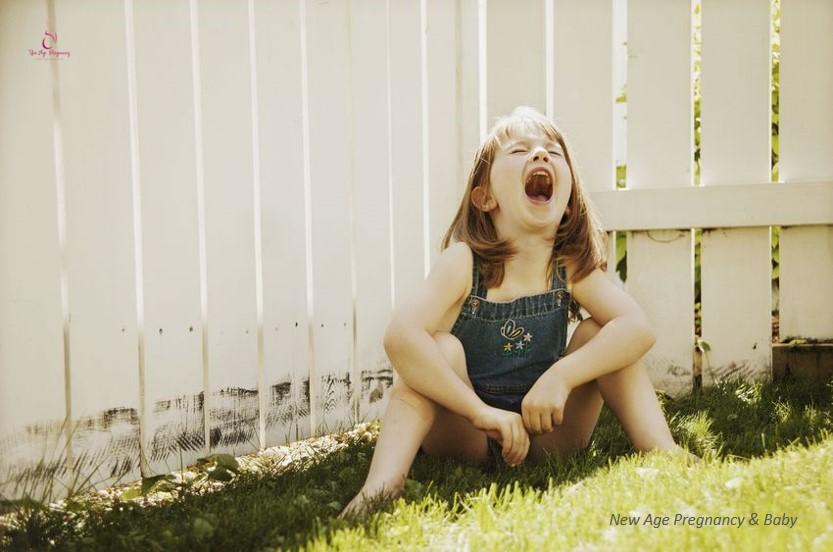 throwing tantrum